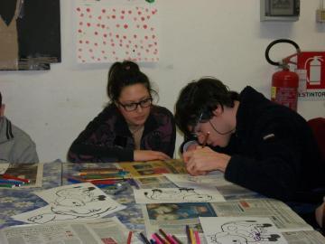 Luca Milazzo disegna...