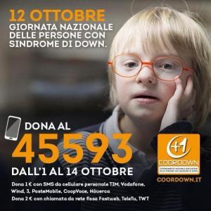 12 ottobre sindrome down