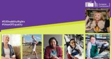 Copertina Strategia Europea per i Diritti delle Persone con Disabilità